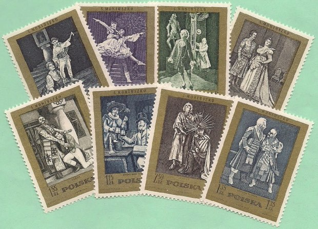 moniuszko postzegels