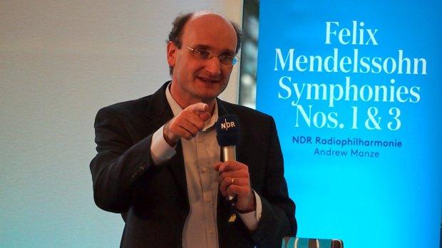 Mendelssohn Manze presentatie