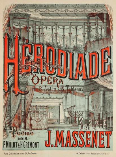Herodiade - affiche