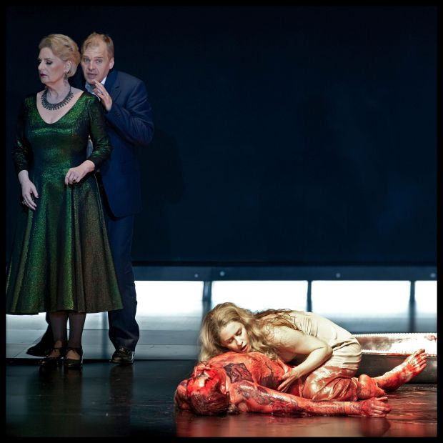 Malin Byström (Salome) & Lance Ryan (Herodes) & Doris Soffel (Herodias)