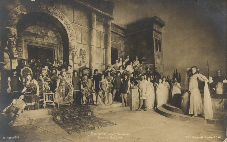 Salome Wittich premiere dresden 1905
