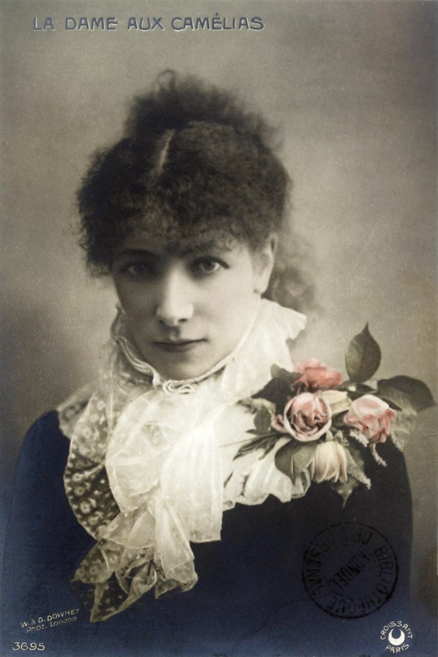Traviata Sarah-Bernhardt-Camille-Postcard