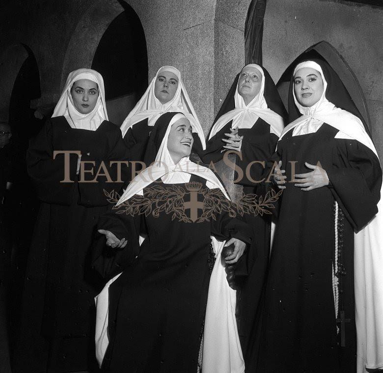 Carmelites la scala premiere