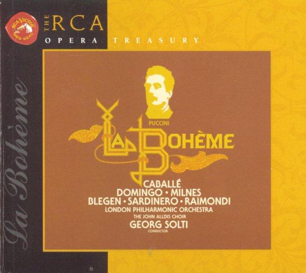 la BOheme Domingo Caballe