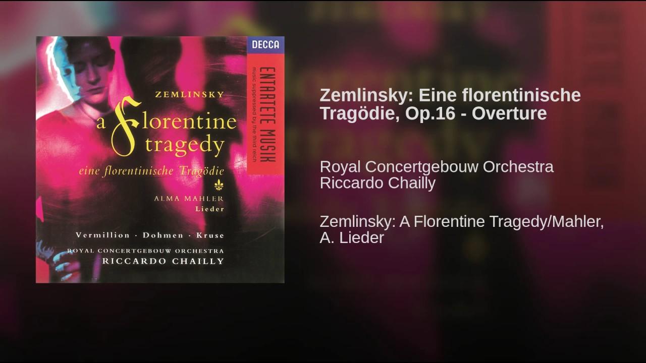 Zemlinsky Tragedie Chailly