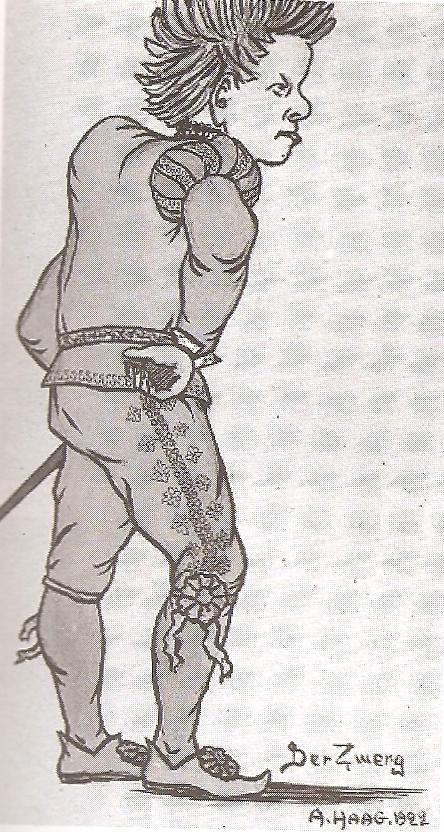 Zemlinsky zwerg kostuum