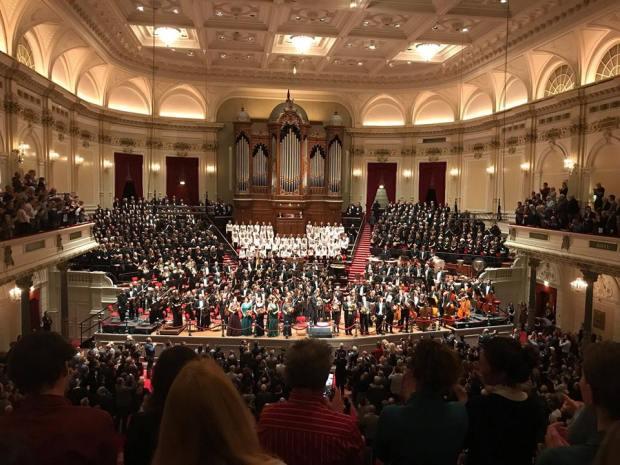 Mahler zaal Maurits Haenen