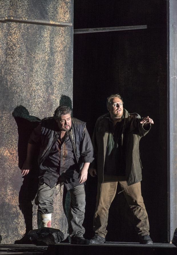 Stephen Gould (Tristan), Ian Paterson (Kurwenal)
