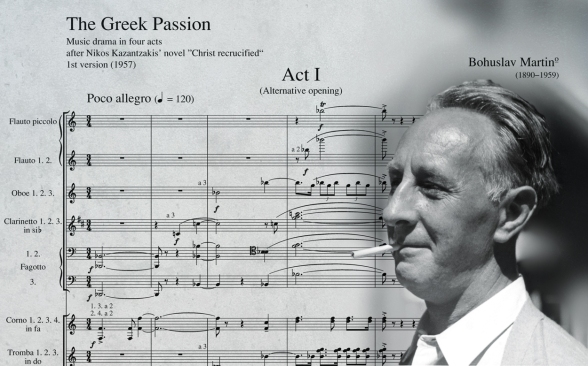 WHY DON'T WE SEE MARTINŮ'S GREEK PASSION MORE OFTEN