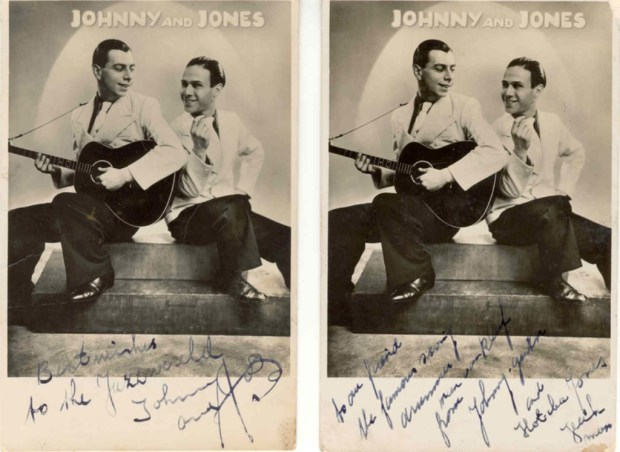 Johnny and Jones artiestenfoto