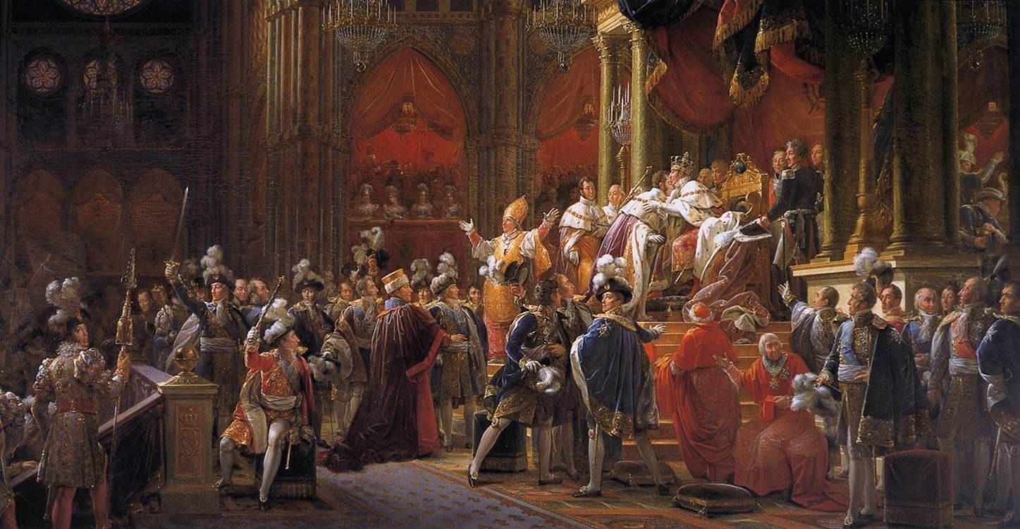 Viaggio Coronation_of_Charles_X_of_France_by_François_Gérard,_circa_1827