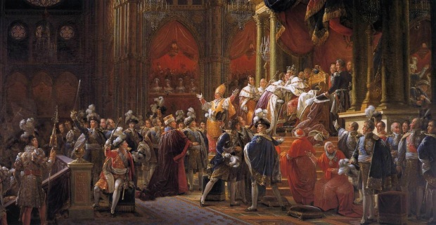 Viaggio Coronation_of_Charles_X_of_France_by_François_Gérard,_circa_1827