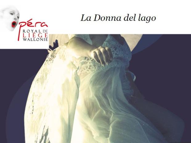 La Donna del Lago Luik affiche