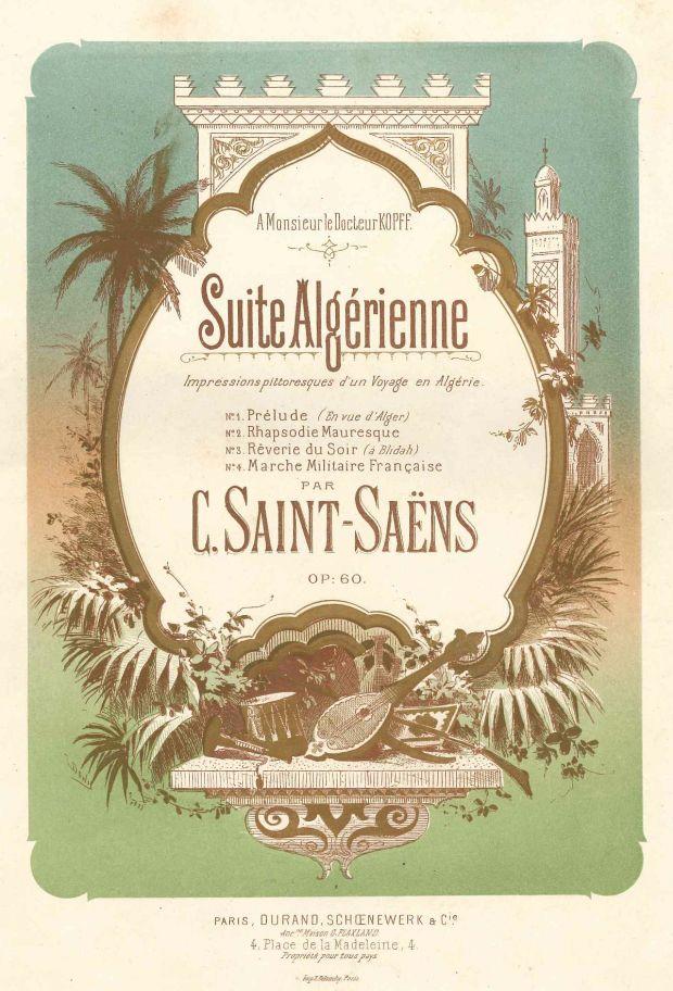 SaintSaens_Suite_Algerienne_Page_Couv_Partition