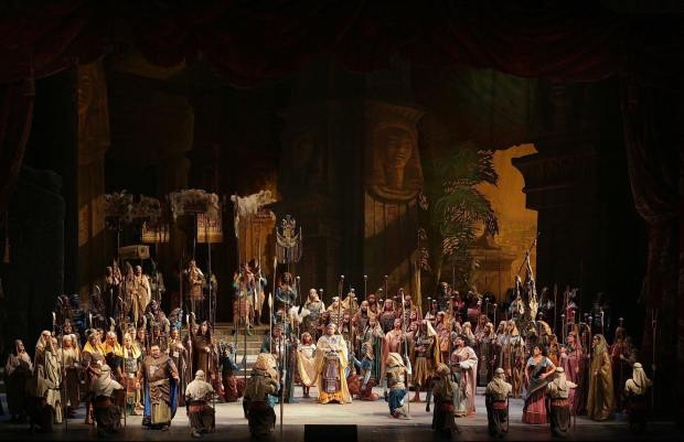 Aida scene