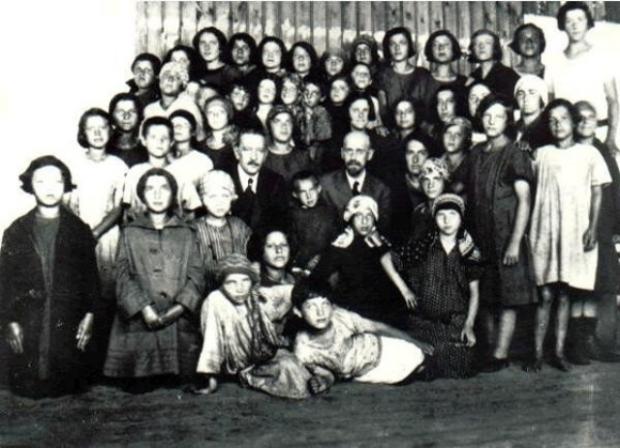 Korczak en kinderen
