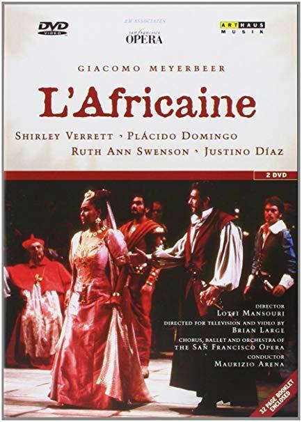 Africaine Verrett SF dvd