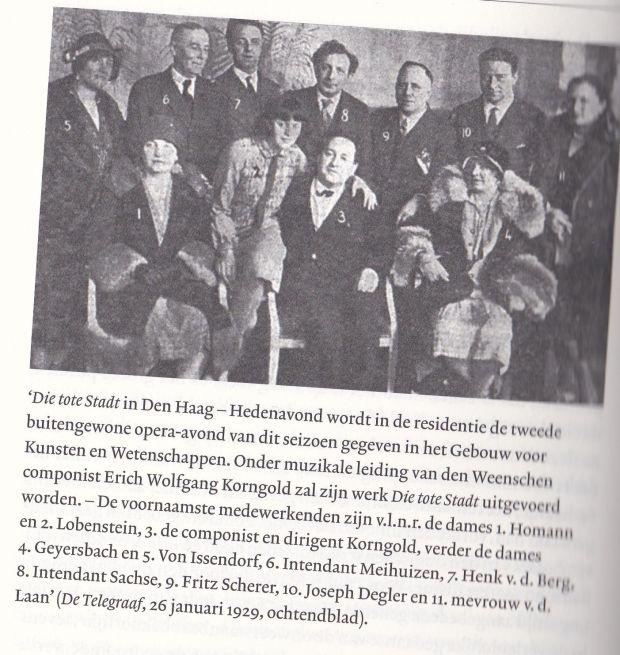 Korngold 1929 den Haag
