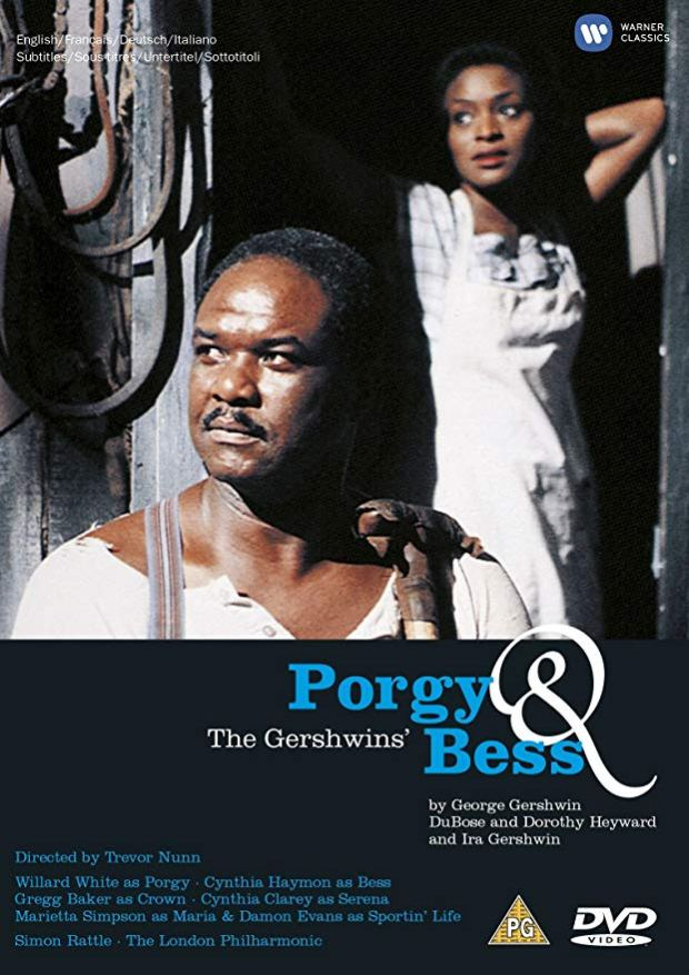 porgy dvd warner