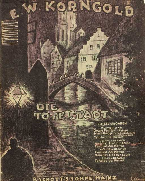 tote stadt poster
