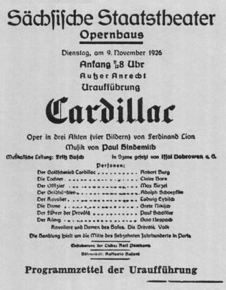 Cardillac premiere