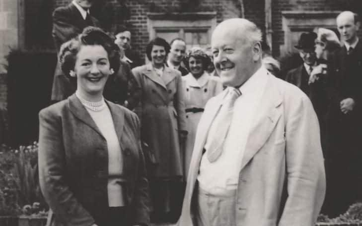 Glyndebourne Christie en vrouw