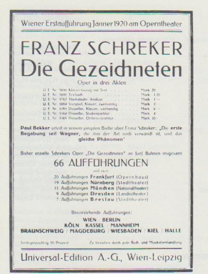 Schreker affiche