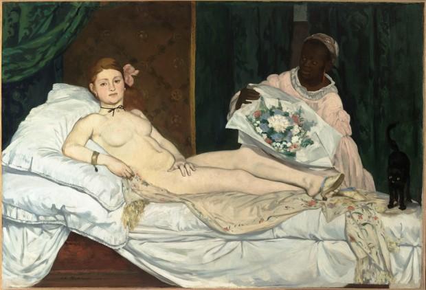 MalikiÉdouard_Manet_-_Olympia_-_Musée_d'Orsay,_Paris