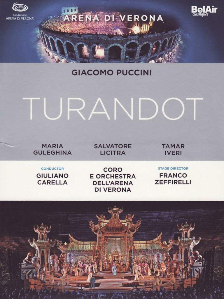 Turandot Licitra dvd