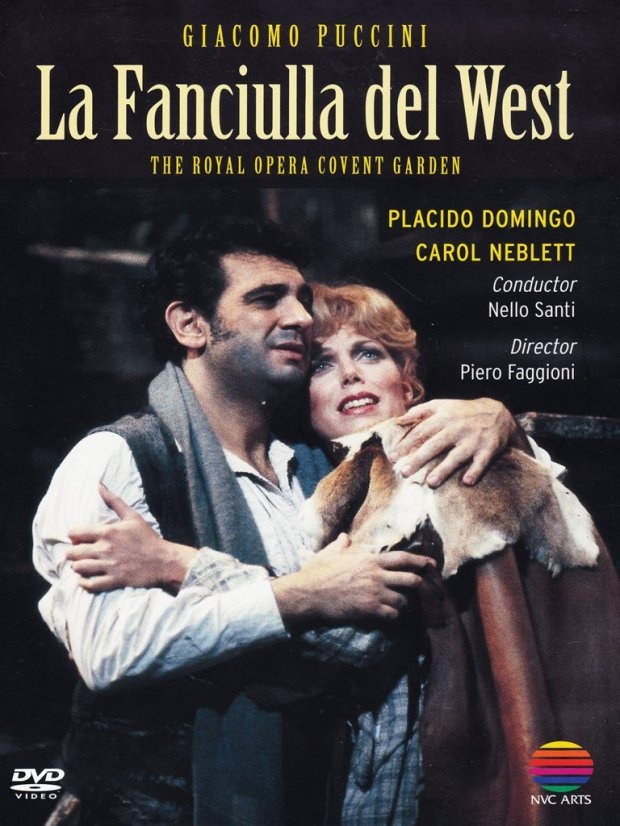 La Fanciulla Domingo Neblett dvd