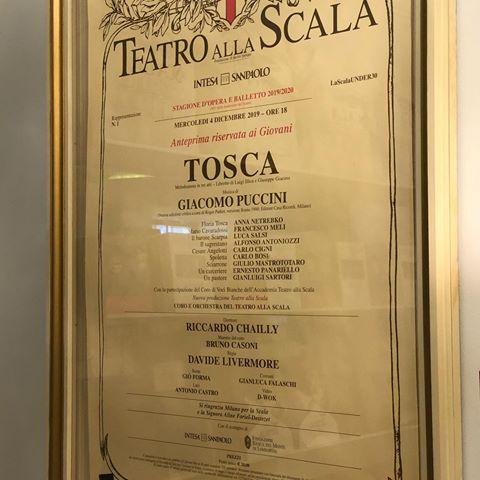 Tosca La scala