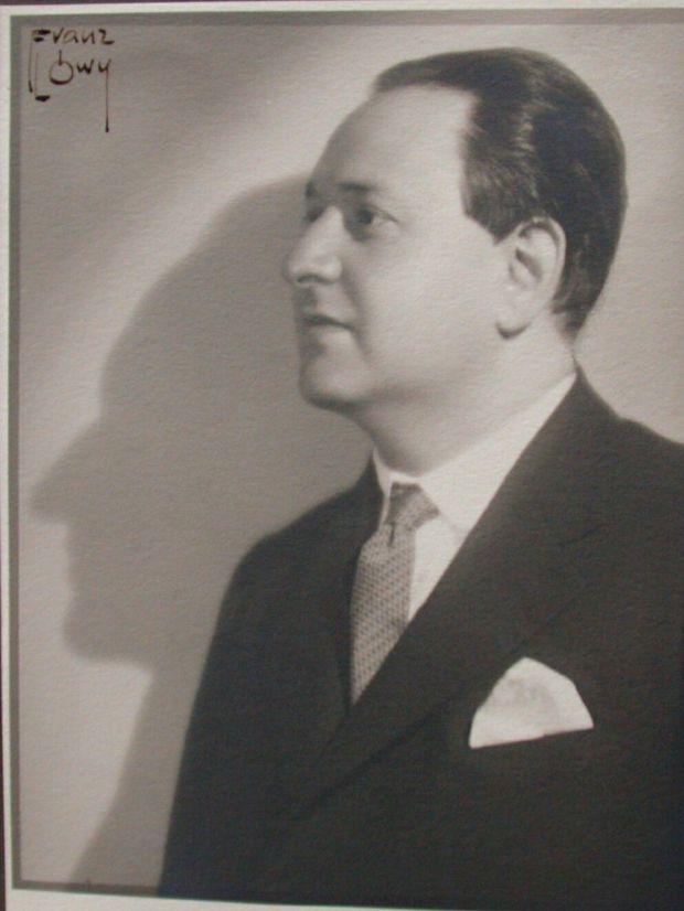 korngold 1929 Franz Loewy