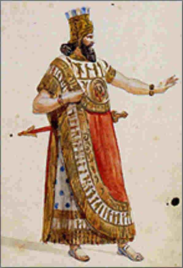 Nabucco costuum