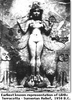 Lilith met tekst