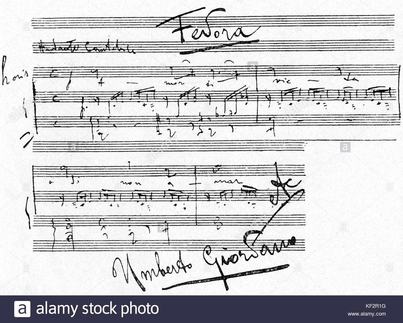 Fedora manuscript