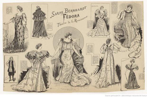 Fedora Sarah_Bernhardt_Fédora_Sardou_Renaissance_Solar